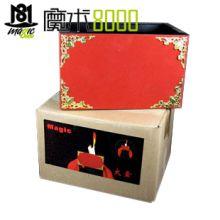 魔术8000 火盒 着火的盒子 丝巾变火盒 火类魔术舞台魔术道具批发