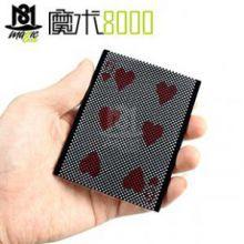 魔术8000 刘谦表演过的纸牌魔术 wow 真空中的交换 空中交换
