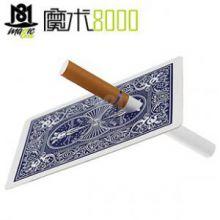 烟穿牌 香烟穿牌 近景魔术