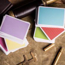扑克牌 Steel彩色盒子纸牌 新手练习花切魔术扑克牌 近景魔术道具