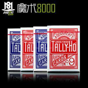 美国原厂㊣Tally-Ho No.9㊣扑克牌 扇背/圆背
