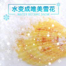 魔术8000 凝固粉10g 水变雪 消失的水人造雪(3秒凝固)凝固粉魔术道具套装