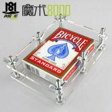水晶压牌器 扑克矫正器 使变形膨胀的牌复原