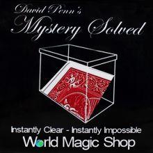 新品 魔术8000 预言签名牌 透明盒子 近景魔术道具