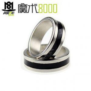 黑圈磁戒 单圈磁戒 磁力戒指 磁铁戒指
