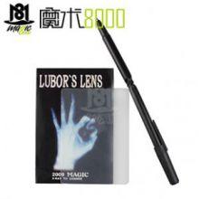 魔术8000 很经典的意念类道具近景魔术 透视扭曲 扭曲卡+扭曲笔