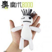 魔术8000 2013最热魔术 克里斯安吉尔 voodoo doll 巫毒娃娃(道具+DVD)