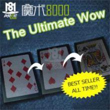 魔术8000 上海魔术节热卖的魔术道具纸牌魔术 终极wow3.0