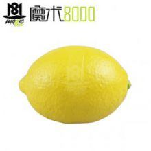 魔术8000 近景魔术柠檬消失 柠檬变苹果等物品 橡胶仿真柠檬